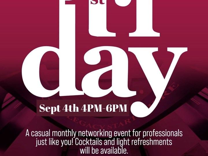 First Fridays Happy Hour at Legacy Center