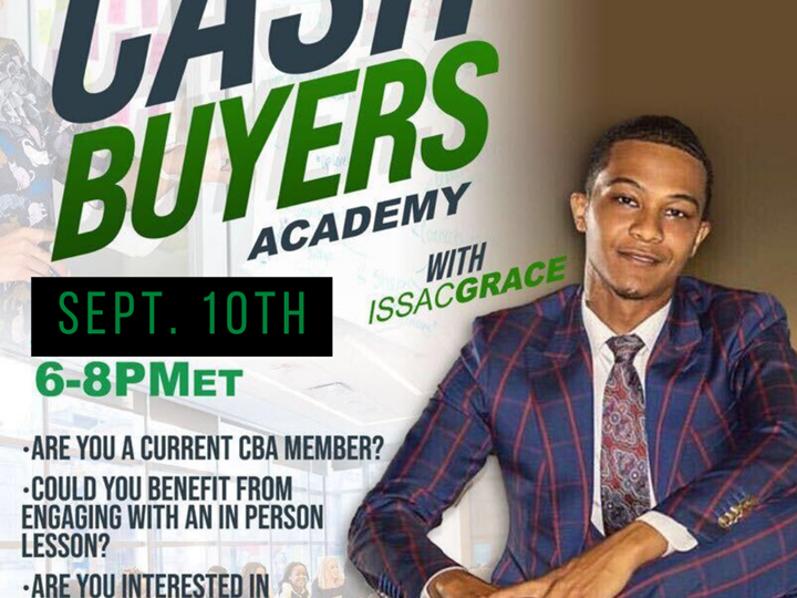 Cash Buyers Academy On Site with Issac Grace
